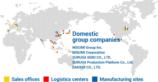 global network corporate information misumi group information