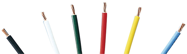 Environment-Friendly Products (examples) : Non-halogen-type cable (electrical wiring)